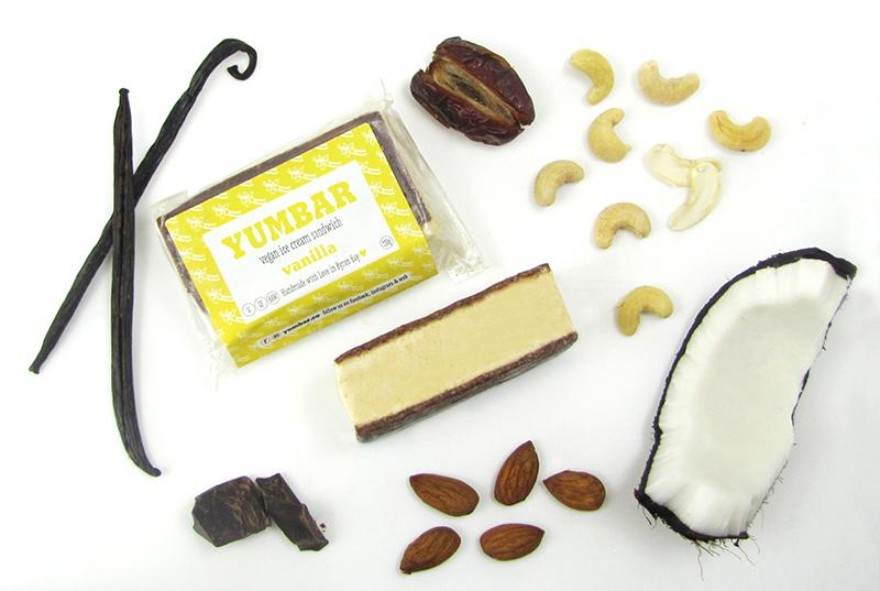 Vanilla Vegan Ice Cream, dairy free, gluten free, refined sugar free, all ingredients