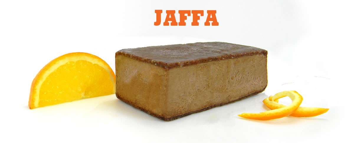 Jaffa Vegan Ice Cream, dairy free, gluten free, refined sugar free, without packaging
