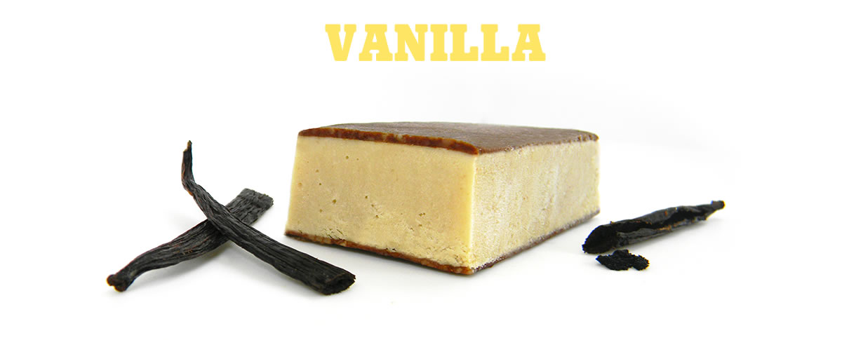 Vanilla Vegan Ice Cream, dairy free, gluten free, refined sugar free, without packaging