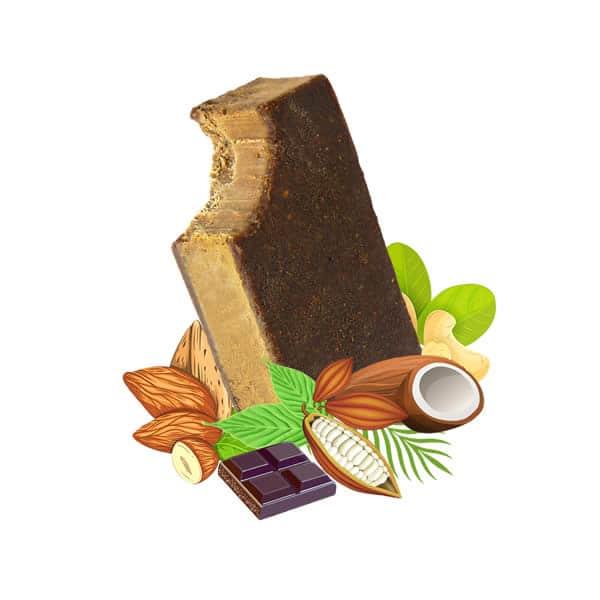 Chocolate Vegan Ice Cream, dairy free, gluten free, refined sugar free,
