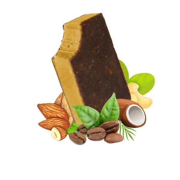 Coffee Vegan Ice Cream, dairy free, gluten free, refined sugar free,
